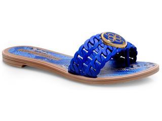 Tamanco Feminino Grendene 16879 Grendha jp Tro Azul - Tamanho Médio