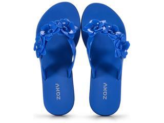 Tamanco Feminino Grendene 17544 90061 Zaxy Fresh Choice Azul - Tamanho Médio