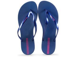 Tamanco Feminino Grendene 25971 24681 Ipanema Wave Azul Perolado - Tamanho Médio