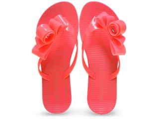 Tamanco Feminino Grendene 17325 Zaxy Fresh Glam Rosa Neon - Tamanho Médio