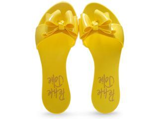 Tamanco Feminino Petite Jolie Pj1494 Amarelo - Tamanho Médio
