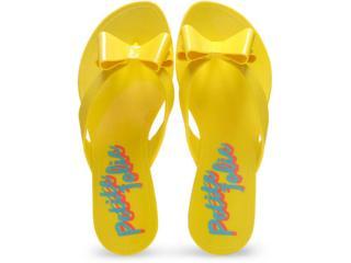 Tamanco Feminino Petite Jolie Pj1474 Amarelo - Tamanho Médio