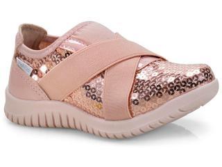 Tênis Fem Infantil Pink Cats W9813 Rose - Tamanho Médio