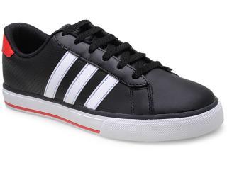 Tênis Masculino Adidas F39046 se Daily Vulc Preto/branco - Tamanho Médio