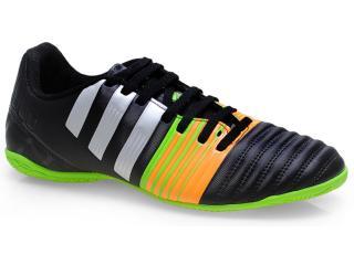 Tênis Masculino Adidas M29926 Nitrocharge 4.0 Preto/prata/laranja/verde - Tamanho Médio