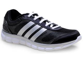 Tênis Masculino Adidas M17343 Breeze 202 2m Preto/prata - Tamanho Médio