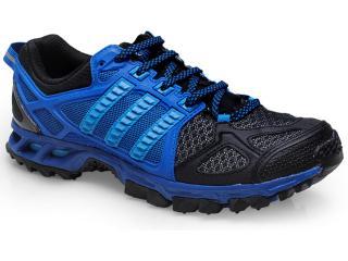 Tênis Masculino Adidas M18450 Kanadia 6m Preto/azul - Tamanho Médio
