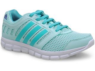 Tênis Feminino Adidas M18408 Novo Breeze 1 Verde Agua - Tamanho Médio