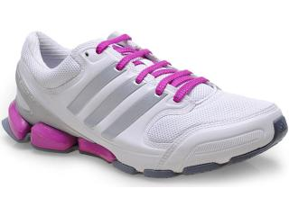 Tênis Feminino Adidas Q22291 Dynamic Fusion 50 w Branco/roxo - Tamanho Médio