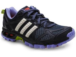 Tênis Feminino Adidas M17445 Kanadia tr 6w Preto/lilas - Tamanho Médio