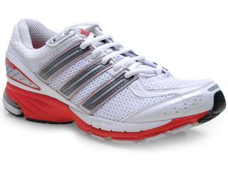 Tênis Masculino Adidas Q22195 Resp Cush 21 m  Branco/vermelho - Tamanho Médio
