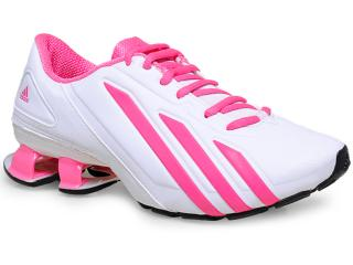 Tênis Adidas M25677 METEOR W Brancopink Comprar na Loja... 9c53272ad5915