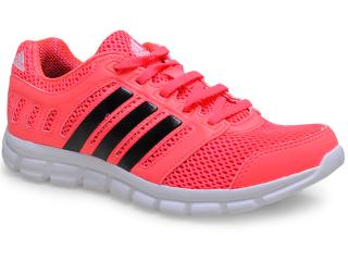 963ef4ea8a6 Tênis Adidas B44040 BREEZE 101 Rosa Neon Comprar na Loja...