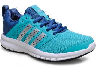 Tênis Feminino Adidas B40261 Madoru w Verde Agua/azul - Tamanho Médio