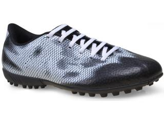 Tênis Masculino Adidas B44304 f5 tf Preto/branco - Tamanho Médio