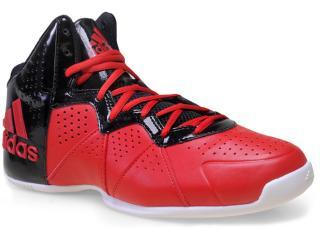 5b877689cc985 Tênis Masculino Adidas S83992 Pro Smooth Feather Vermelho preto