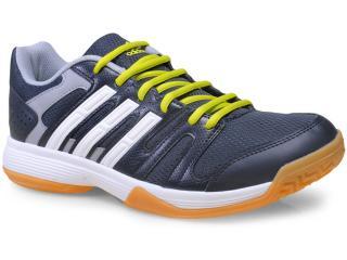 Tênis Masculino Adidas B44482 Volley Ligra Grafite/branco/limão - Tamanho Médio
