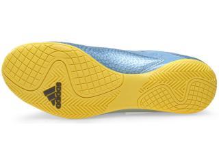 8920b3b666ec7 Tênis Adidas B32902 MESSI 15.4 IN Azul Metalicoamarelo...