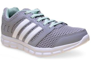 Tênis Feminino Adidas S81693 Breeze 101 2 w  Cinza/branco - Tamanho Médio
