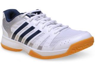 Tênis Masculino Adidas B33043 Ligra 3 m Branco/marinho - Tamanho Médio