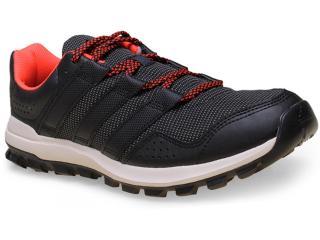 Tênis Masculino Adidas B23254 Slingshot tr  Preto/laranja - Tamanho Médio