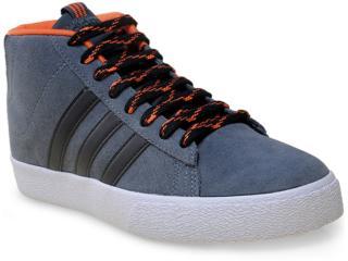 Tênis Masculino Adidas F98317 Daily st Mid Chumbo/laranja - Tamanho Médio