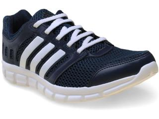 Tênis Masculino Adidas S81688 Breeze 101 2 m  Marinho/branco - Tamanho Médio