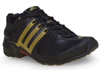 Tênis Masculino Adidas M22983 Mali Preto/ouro - Tamanho Médio
