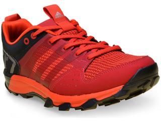 Tênis Masculino Adidas Aq5043 Kanadia 7 Vermelho/preto - Tamanho Médio