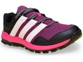 Tênis Feminino Adidas Af6593 Slingshot tr Preto/pink/rosa - Tamanho Médio