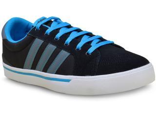 Tênis Masculino Adidas F99250 Park st Preto/azul - Tamanho Médio
