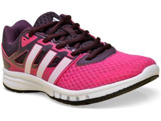 Tênis Feminino Adidas Af5569 Galaxy 2 w Pink/vinho - Tamanho Médio