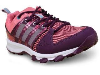 Tênis Feminino Adidas Bb3489 Galaxy Trail Roxo/rosa - Tamanho Médio
