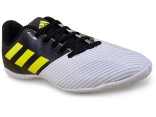 Tênis Masculino Adidas H68478 Artilheira ii in Branco/preto/limão - Tamanho Médio