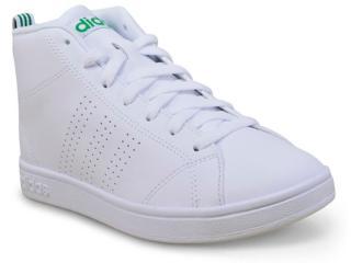 Tênis Masculino Adidas Bb9894  Advantage cl Mid Branco - Tamanho Médio