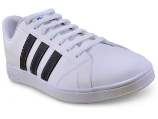 05bb77609f Tênis Masculino Adidas F99256 vs Advantage Branco preto. 1. 2