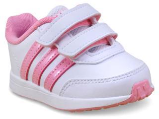 Tênis Fem Infantil Adidas Bc0101 Switch 2 Cmf Branco/rosa - Tamanho Médio