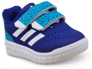 d5f78d96c Tênis Masc Infantil Adidas H68499 Quicksport cf i Azul branco