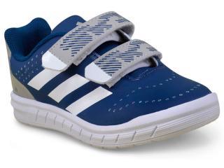 fbc4dc68c Tênis Masc Infantil Adidas H68498 Quicksport cf c Azul branco