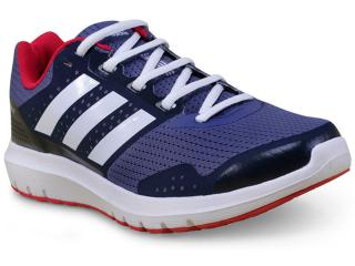 Tênis Feminino Adidas Ba8068  Duramo 7 w Azul/cereja - Tamanho Médio