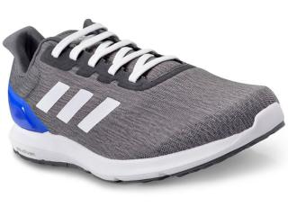 Tênis Masculino Adidas Bb3585 Cosmic 2 m Cinza Escuro/branco/azul - Tamanho Médio