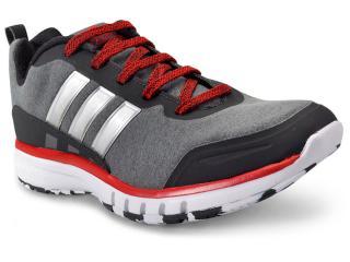 Tênis Masculino Adidas H68326 Skyfreeze Grafite/preto/vermelho - Tamanho Médio