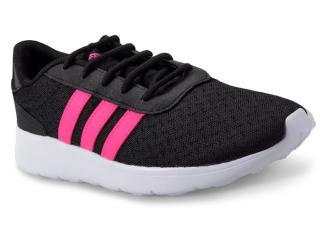 Tênis Feminino Adidas Bb9835 Lite Racer w Preto/pink - Tamanho Médio