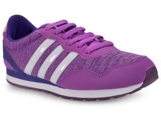 421fa13b3a9 Tênis Adidas BC0079 V JOG K Roxo Comprar na Loja online...