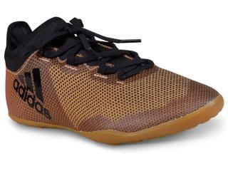 Tênis Masculino Adidas Cp9139 x Tango 17 3 in Ouro - Tamanho Médio