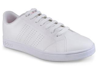 Tênis Feminino Adidas Db0581 Advantage e Clean w  Branco - Tamanho Médio