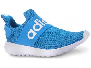 97fde63f3 Tênis Masculino Adidas Db1647 cf Lite Racer Adapt Azul branco