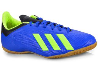 Tênis Masculino Adidas Db2482 x Tango 18.4 in Azul/limão - Tamanho Médio