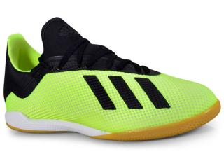 Tênis Masculino Adidas Db2441 Tango 18.3 in Limão/preto - Tamanho Médio