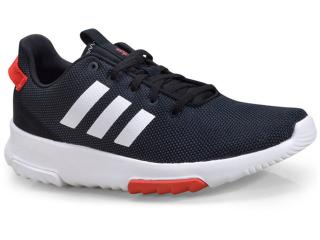 Tênis Masculino Adidas Db0704 cf Racer Preto/branco - Tamanho Médio